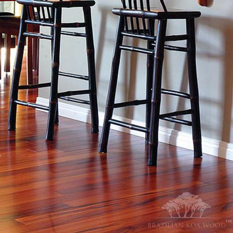 Brazilian Koa Hardwood Flooring we put down bellawood brazilian koa in the dining room absolutely beautiful floor Brazilian Koa Wood Flooring
